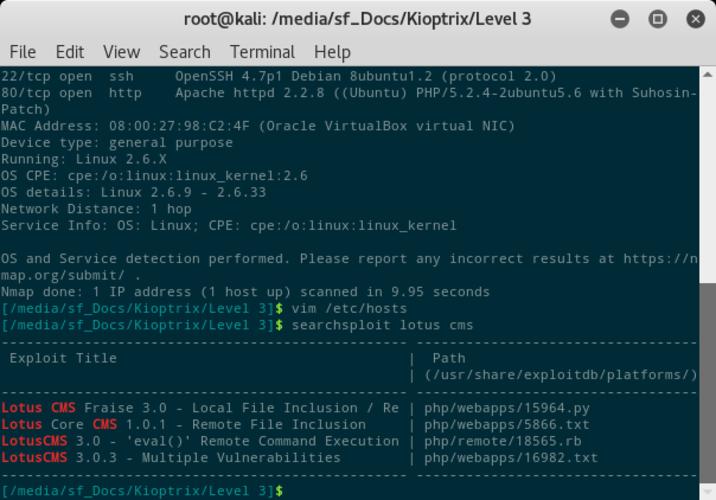 Exploit per LotusCMS